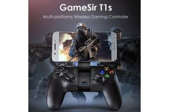 GameSir T1s Gaming Controller 2.4G Wireless Gamepad for DJI Tello Drone Android iOS Smartphone Tablet PC Windows Steam TV Box PS3