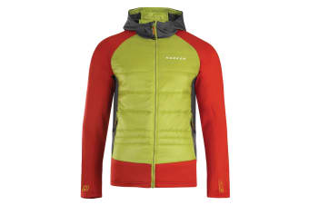 Dare 2B Mens Inlay Hybrid Jacket (Lime Punch/Danger Red) (2XS)