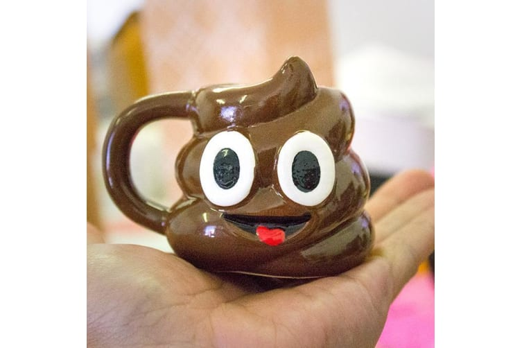 The Emoji Smiley Poo  Mini Jug