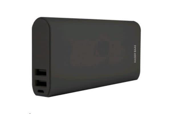 Kaiser Baas 11000 mAh Power Bank in Black