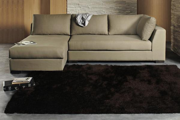 Twilight Shag Rug - Chocolate  165x115cm