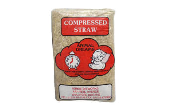 Animal Dreams Compressed Straw Bale (May Vary)