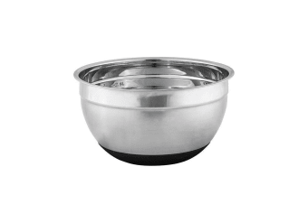 Avanti Stainless Steel Mixing Bowl w/ Silicone Bottom 22cm