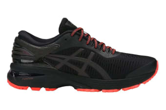 ASICS Women's Gel-Kayano 25 Lite-Show Running Shoe (Black/Black)