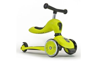 Scoot & Ride Highwaykick 1 Ride On & Scooter - Lime