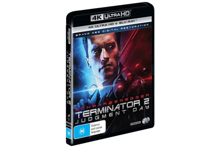 Terminator 2 Judgment Day 4K Ultra HD Blu-ray UHD Region B