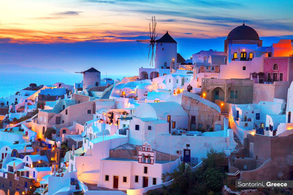 ITALY & GREECE: 20 Day Highlights of Italy and Greece Tour with 7 Night Cruise Including Flights for Two - (Interior Cabin)