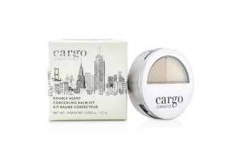 Cargo Double Agent Concealing Balm Kit - 2N Light 2.7g/0.095oz