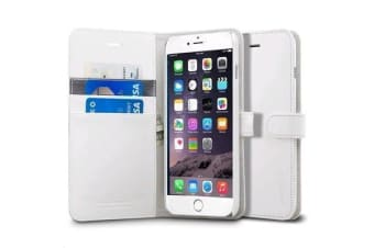"Spigen iPhone 6 Plus (5.5"") Wallet Case-White"