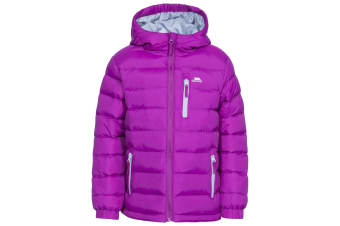 Trespass Childrens/Kids Aksel Padded Jacket (Purple Orchid) (11-12 Years)