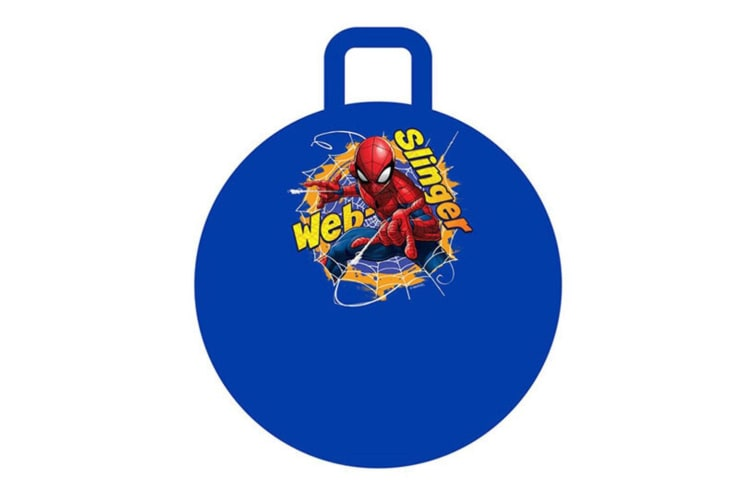 Spider Man Hopper Ball for Kids/Children Fun Bounce Outdoor Toy w/ Handle 4y+