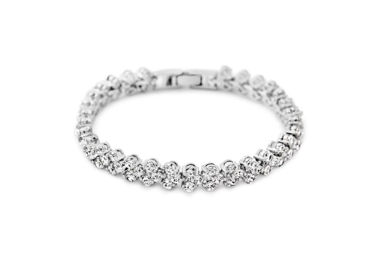Pure Radiance Bracelet-White Gold/Clear