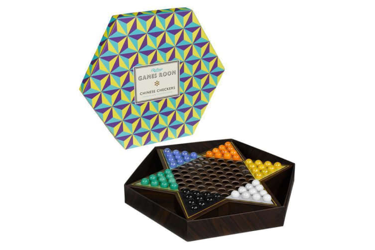 Chinese Checkers Ridley's Board Game Team Individual Family Star Play Fun Strategy 2-6 Players
