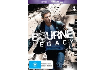 The Bourne Legacy DVD Region 4