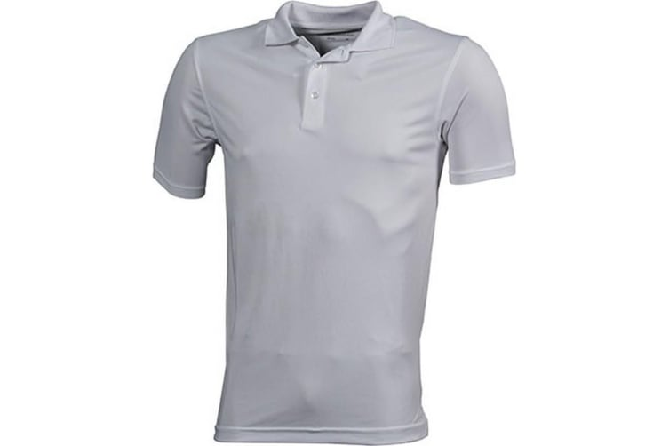 James and Nicholson Mens High Performance Polo (White) (S)