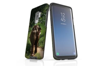 For Samsung Galaxy S9+ Plus Case Armour Cover  Running Elephant