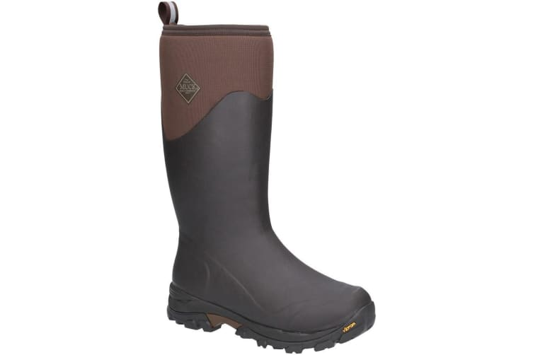 Muck Boots Mens Arctic Ice Tall Extreme Conditions Sport Boot (Brown) (9 UK)