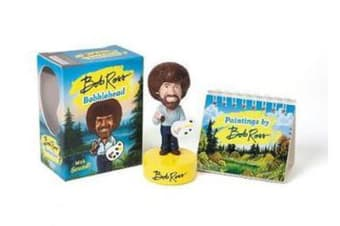 Bob Ross Bobblehead - With Sound!