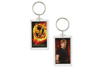 The Hunger Games Lucite Keychain Peeta
