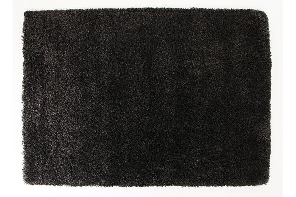 Thick Soft Polar Shag Rug - Anthracite 150x80cm