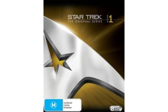 Star Trek the Original Series Season 1 DVD Region 4