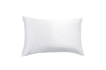 Gioia Casa 100% Pure Mulberry Silk Pillowcase Cover Standard Smooth Soft 1-Pc - White