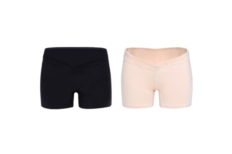 (2 Pack) Pregnant Women Wear Bottompants,Safety Pants To Prevent Low Light Waist Dressing - 10 L