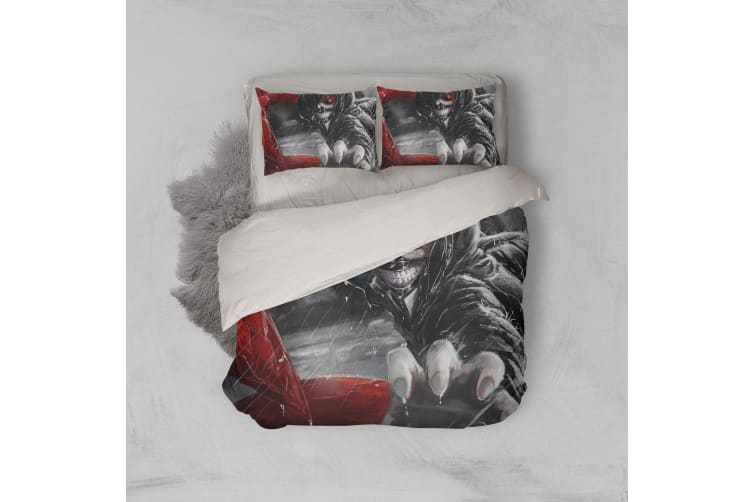 3D Anime Mask Ghoul Quilt Cover Set Bedding Set Pillowcases 54-King