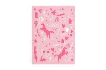 Ohh Deer Wonderful Things Perfect Bound Notebooks (Pink)