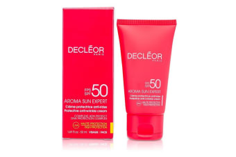 Decleor Aroma Sun Expert Protective Anti-Wrinkle Cream High Protection 50ml