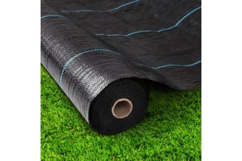 3.66x 50m Weed Mat Control Weedmat Woven Fabric Gardening Plant Tent