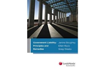 Government Liability - Principles and Remedies