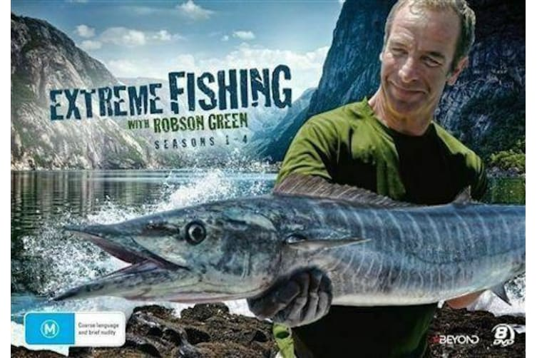 Extreme Fishing with Rob Green: Seasons 1 - 4 (2016, 8-Disc Set)
