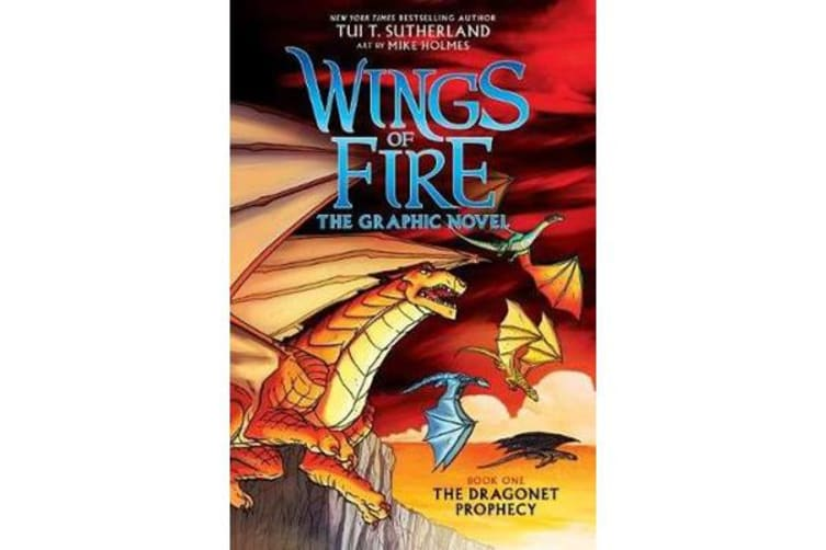 Wings of Fire - The Graphic Novel #1: The Dragonet Prophecy