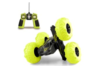RC 4WD Off Road Stunt Spinning Car w/Rechargeable Battery/Kids/Toy 8y+
