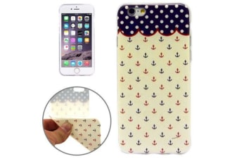 """For iPhone 6S 6 Case """"Mini Anchors"""" Grippy Durable Shielding Cover"""