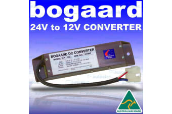 Bogaard 24 Volt To 12 Volt Voltage Reducer Converter 10A Amp Output Cr-150-Hd