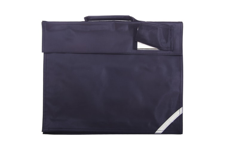 Quadra Junior Book Bag - 5 Litres (Pack of 2) (French Navy) (One Size)