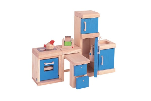 PlanToys Kitchen Furniture - Neo 14pcs