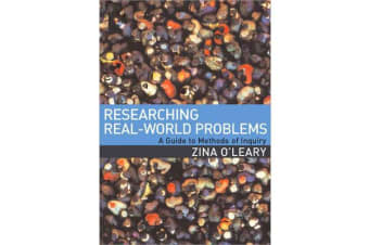 Researching Real-World Problems - A Guide to Methods of Inquiry