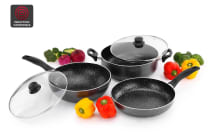 Ovela 5 Piece BlackStone Non-Stick Induction Cookware Set