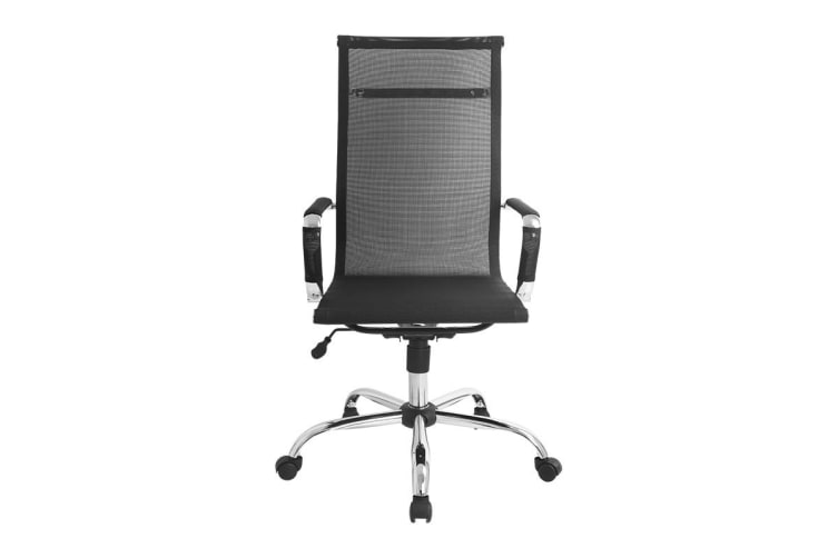 Ergolux Eames Replica High Back Mesh Office Chair (Black)
