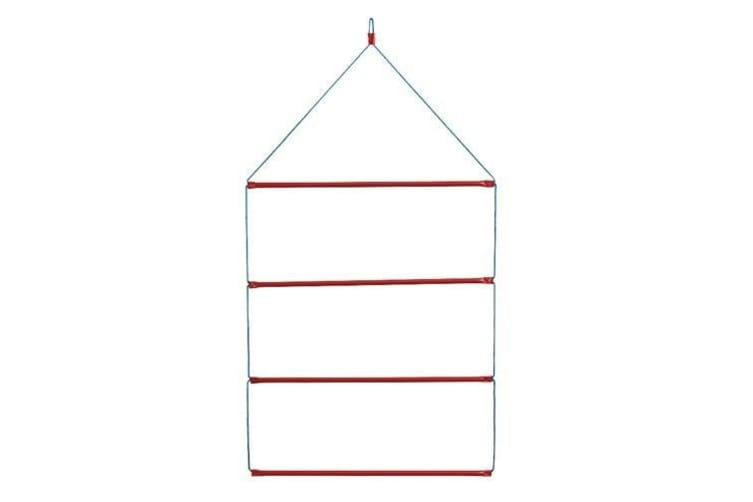 Stubbs Blanket Rack Hanging S92 (Red/Silver) (One Size)