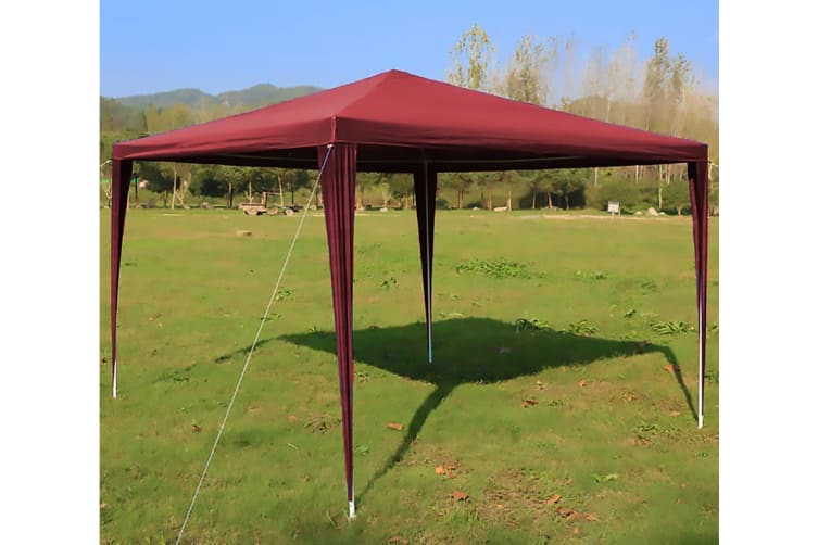 Lenoxx 3x3m Pop Up Marquee Gazebo - Red