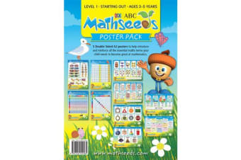Mathseeds Posters 5 x A2