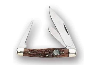 Fury Mustang 2 Blade Folding Knife With Punch #51026