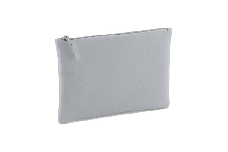 Bagbase Grab Zip Pocket Pouch Bag (Light Grey) (One Size)
