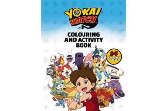 Yo-Kai Watch Colouring and Activity Book