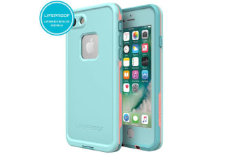 Lifeproof Fre Blue/Coral Case/Cover for iPhone 7/8