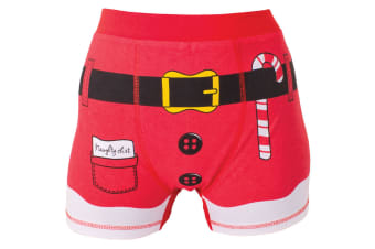 Christmas Shop Boxer Shorts (Red)